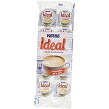 Nestlé Ideal - Leche evaporada semidesnatada en porciones - Caja de leche evaporada 24 x 10