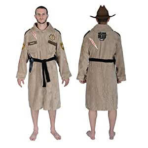 The Walking Dead shérif Rick Grimes luxe coton Peignoir / Robe de chambre