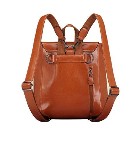 Student Frauen Schultertasche Mode Tasche Rucksack Lässig Querschnitt Einfach Wild Red