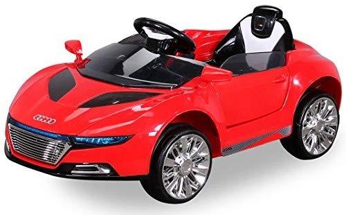 Actionbikes Motors NEU Kinder Elektroauto Sportwagen Spyder A228 2 x 25 Watt Motor Elektro Kinderauto Kinderfahrzeug (rot)