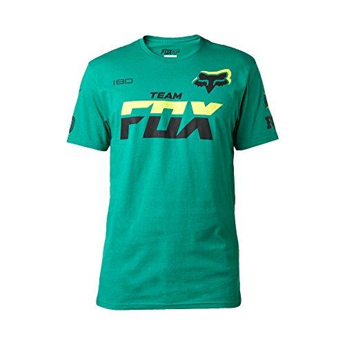 fox-t-shirt-team-fox-grun-gr-m