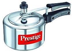 Prestige Nakshatra Aluminium Inner Lid Pressure Cooker, 1.5 Litres