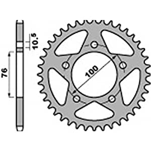 Couronne alu pbr 35 dents chaine 520 roue marchesini - Pbr 46000253