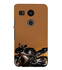 EPICCASE Yahama R1 Bike Mobile Back Case Cover For LG Google Nexus 5X (Designer Case)