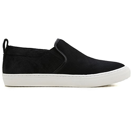 MARC JACOBS SLIP ON SNEAKERS DONNA M9000908001 PELLICCIA NERO
