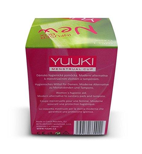 Yuuki soft 2 groß Silikon-Menstruations Tasse - 8