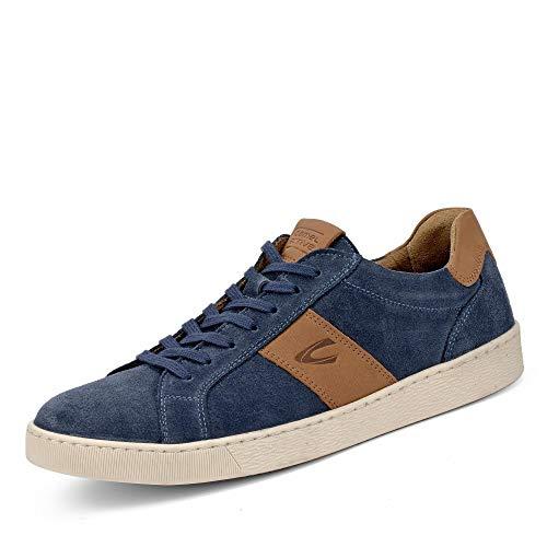 camel active Herren Tonic 11 Sneaker, Blau (Fjord/Nature 3), 42.5 EU Blau 11
