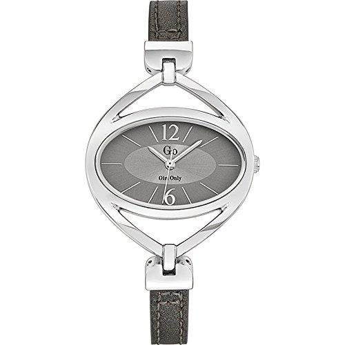 Go Girl Only Damen-Armbanduhr Analog Quarz Leder 698172