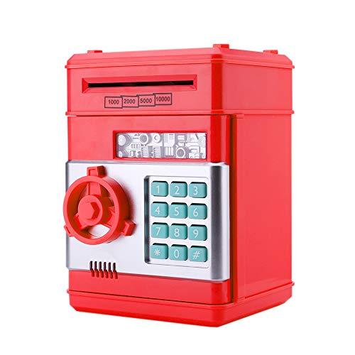 InnerSetting - Hucha con contraseña para niños, automática, electrónica, para Guardar...