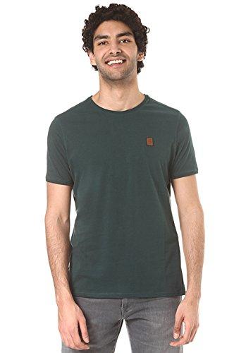 Naketano Herren T-Shirt Italienischer Hengst V T-Shirt,grün melange, M