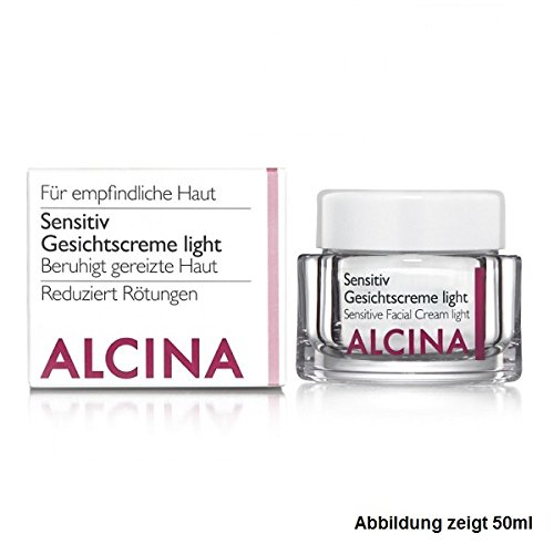 Alcina Kosmetik Sensitiv Gesichtscreme Light, 50ml
