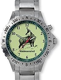 GREINER 1209-EM Reloj De Pulsera Motivo Gamuza