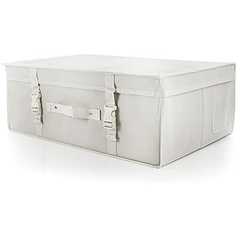 Hangerworld - scatola contenitore abito da sposa traspirante bianco dimensione MEDIUM