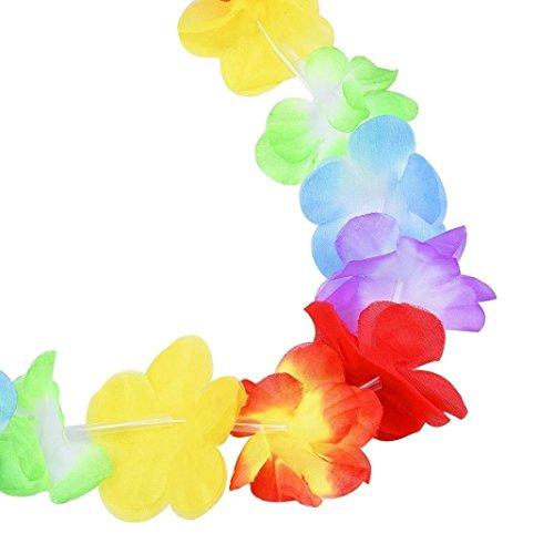 CLEARANCE! MEIbax 36 zählt tropical hawaiian luau - blume - party. (Mehrfarbig) (Hortensie Voller In Größe)