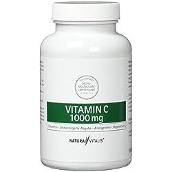Natura Vitalis Vitamin C 1000 mg - Hochdosiert, 100 Presslinge