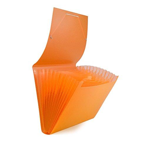 Pryse 4152005Ordnungsmappe Fächermappe, Orange