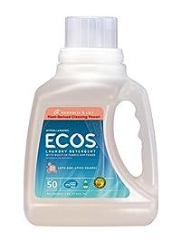 2 Pack Earth Friendly Products Ecos Lndry Lqd Magnolia Lily 1500Ml 2
