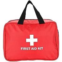 Erste Hilfe Tasche, Leere Oxford-Stoff Notfalltasche für Outdoor Reisen (Rot) preisvergleich bei billige-tabletten.eu