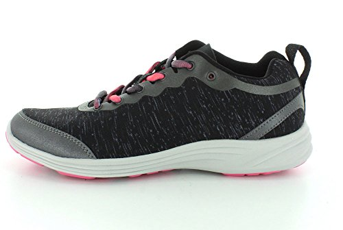 Vionic by Orthaheel Women's Fyn Black Fabric Athletics 10 B(M) US Black