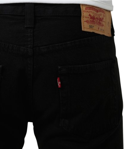 Levi's Herren Jeanshosen Original Straight Fit, 10er Pack Schwarz (Black 0165)