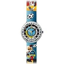 Flik Flak FFL009 - Reloj analógico infantil de cuarzo con correa de plástico multicolor