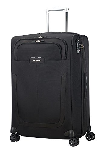 SAMSONITE Duosphere - Spinner 67/24 Expandable Bagaglio a mano, 67 cm, 80.5 liters, Nero (Black)