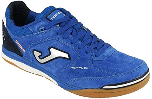 Joma Scarpe Calcetto Top Flex Indoor Nobuck 904 Royal