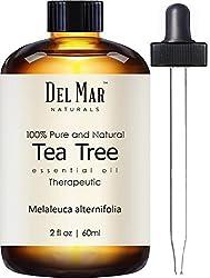 Del Mar Naturals Tea Tree Oil; 100% Pure and Natural