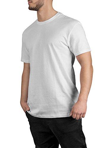 ... Casual Standard T-Shirt Herren I 3er Pack Set Weiße Basic Shirts mit  Rundhals- ... c0c3da2253