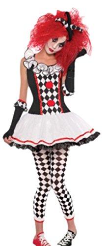 Imagen de erdbeerloft–mujer disfraz harlequin joker harlekin honey, s–xxl , color blanco weiß s