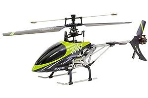 XciteRC 13011000-Flybar 400E Easy Single Blade-4Canal RTF Helicóptero
