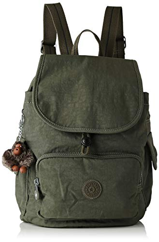 Kipling City Pack S - Zaini Donna, Verde (Jaded Green C)