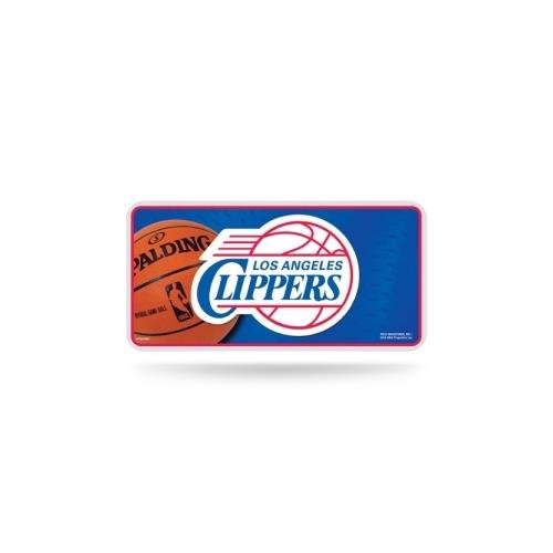 Rico Industries NBA Los Angeles Clippers Metal License Plate Tag -