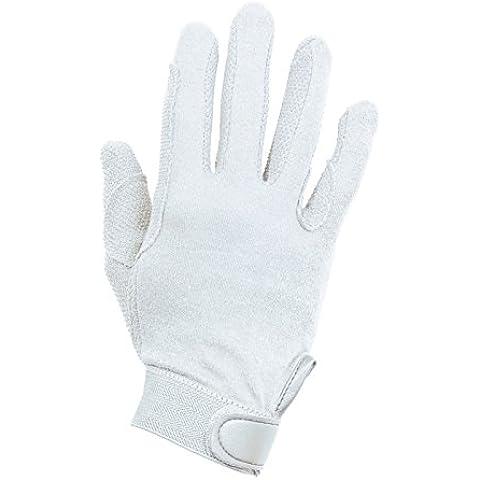 Busse–Guantes de algodón, S, color blanco