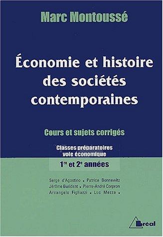 Economie et histoire des sociétés contemporaines