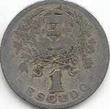 Generic Portugal KM-Nr. : 578 1968 vorzüglich Kupfer-Nickel 1968 1 Escudo Liberty (Münzen für Sammler)