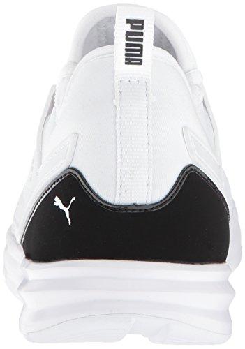 PUMA Unisex-Kids Limitless AC PS Sneaker  White Black  3 5 M US Big Kid