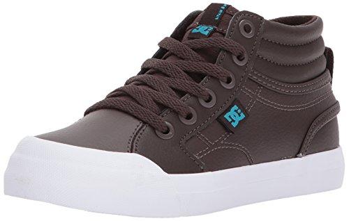 DC - Schuhe - Jungen Evan Hi Se High Top Schuhe, 39, Brown Jungen High-top-schuhe, Dc