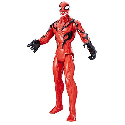 Spider-Man Marvel Titan Hero Series Villains Carnage Figure