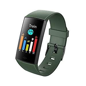 NUYAN Sport-ArmbandReloj Fitness Tracker, Reloj Inteligente podómetro Smart Fitness Activity Tracker con GPS Conectado Running Sports Watch para Mujeres Hombres niños 2