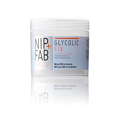 Nip + Fab glycolique Pads Fix 60 par paquet