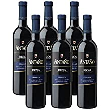D 4500ml Rioja Vino Antaño Tinto Total O x Botellas Crianza 6 750 ml 57TnF