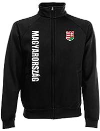 Ungarn Magyarorszag Sweatjacke Jacke Trikot Wunschname Wunschnummer