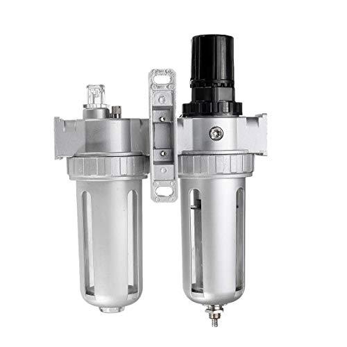 CUHAWUDBA SFC400 1/2 Luft Kompressor Heiz?L Wasser Feuchtigkeit Schmier Stoff Abscheider Filter Luft Regler Anschluss Pneumatische Teile