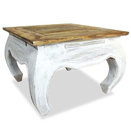 Tisch Altholz (vidaXL Couchtisch Altholz Massiv Tisch Beistelltisch Wohnzimmertisch Sofatisch)