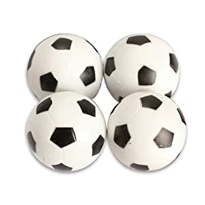 Vktech 4pcs 32mm Plastic Soccer Table Foosball Ball Football Fussball