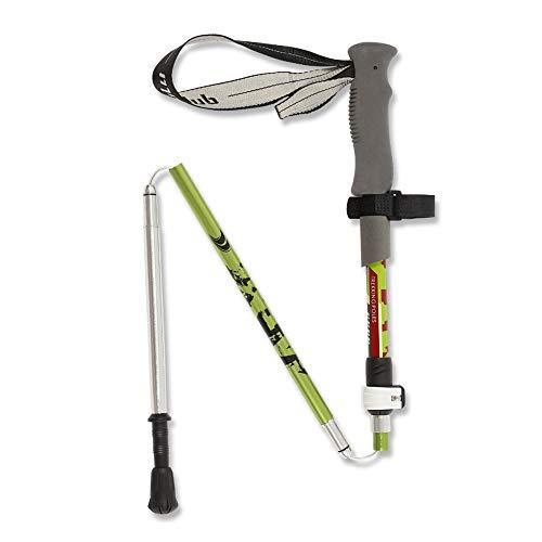 SMLJJHW Wander-Stick, Klappaufbewahrung Stock, Outdoor Klettern Stock, Langlauf-Walking-Stick, Kohlefaser, Ultra-Light versenkbar, einstellbar