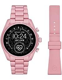 Michael Kors Touchscreen Smartwatch Gen 5 Bradshaw 2 Blush-Tone Aluminum Pink for Woman MKT5098