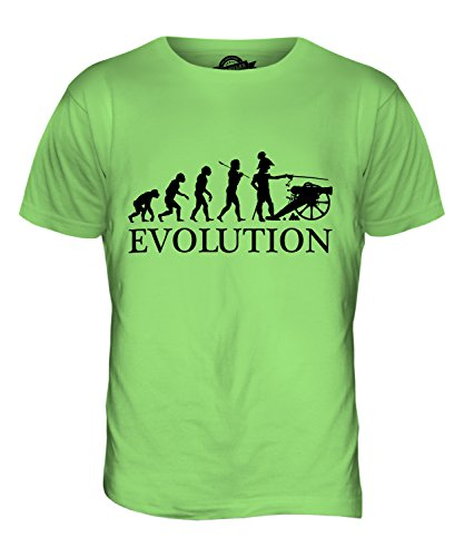 CandyMix Sezessionskrieg Amerikanischer Bürgerkrieg Evolution Des Menschen Herren T Shirt Limettengrün