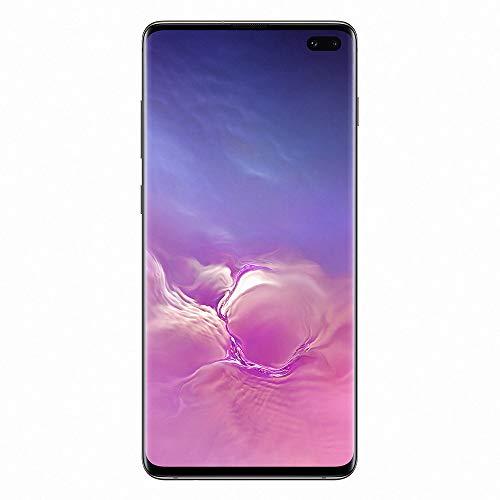 Samsung Galaxy S10 Plus - Smartphone portable débloqué 4G (Ecran : 6,4 pouces - 128 Go - Double Nano-SIM - Android) - Noir - Version Française